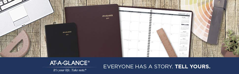 AT-A-GLANCE 2019 Monthly Planner
