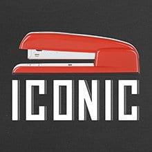 ICONIC SWINGLINE 747 STAPLER - Iconic Red Metal Design