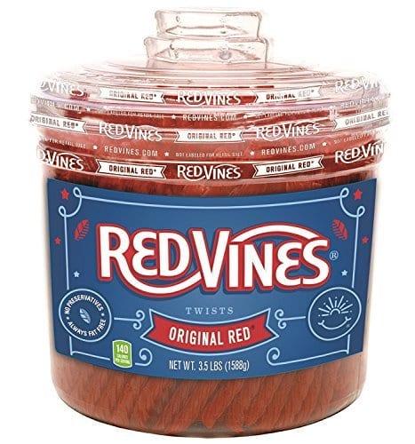 Red Vines - Original Red Twists 5.5lb Tub